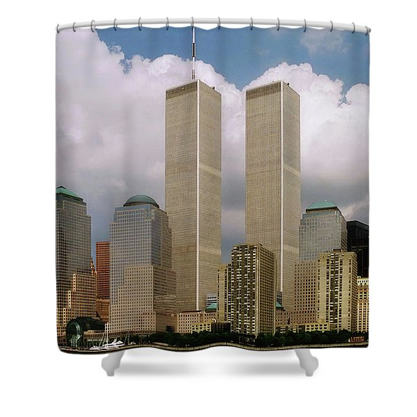 My Skyline Shower Curtain by Joann Vitali