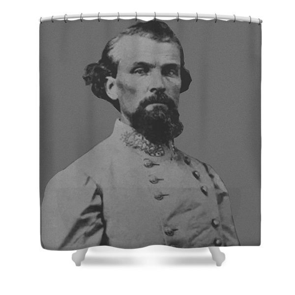 Nathan Bedford Forrest Shower Curtain by War Is Hell Store