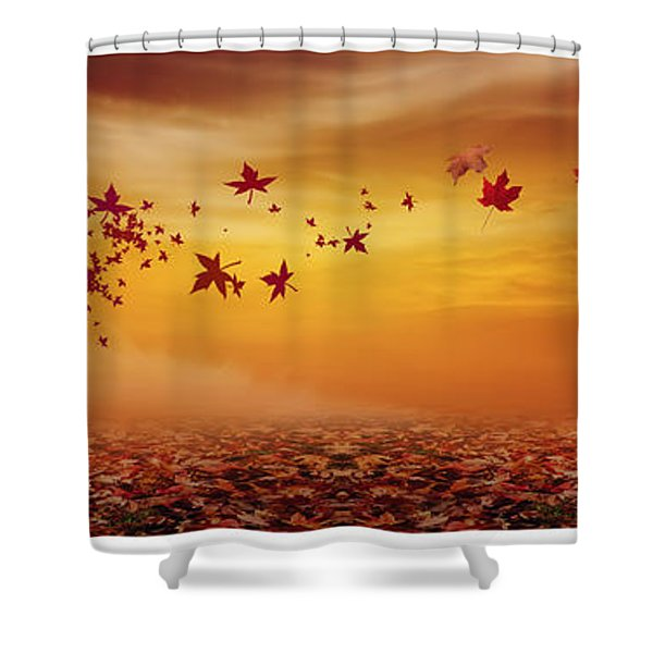 Nature's Art Shower Curtain by Lourry Legarde
