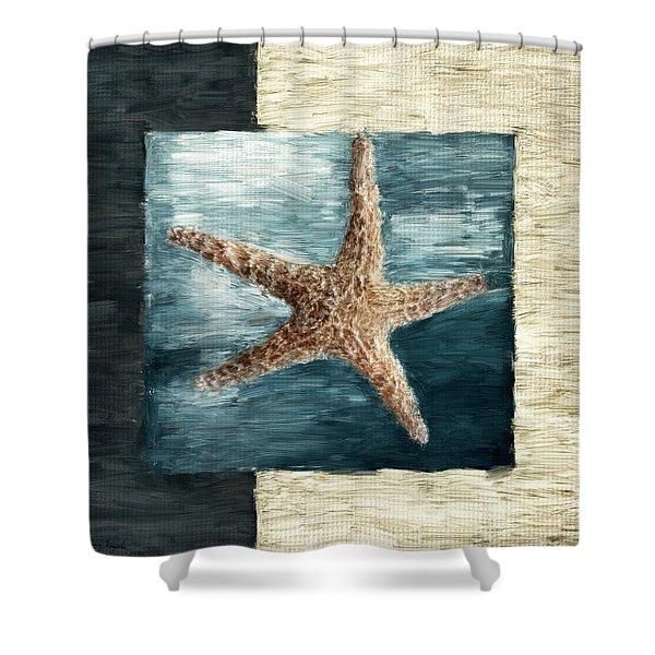 Ocean Gem Shower Curtain by Lourry Legarde
