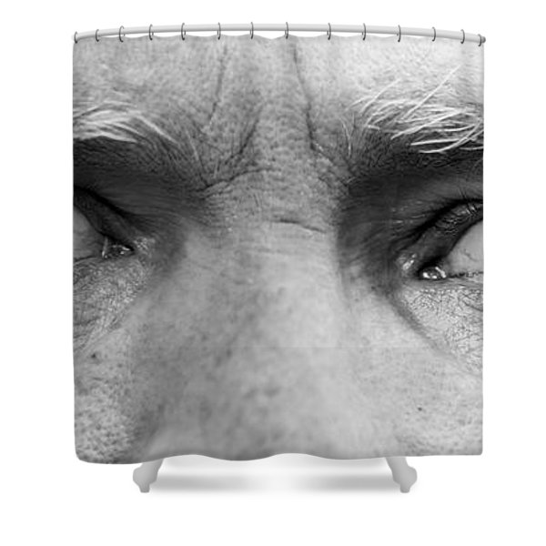 Old Blue Eyes Shower Curtain by James BO  Insogna