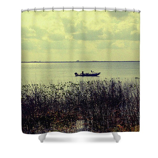 On a sunny Sunday afternoon Shower Curtain by Susanne Van Hulst