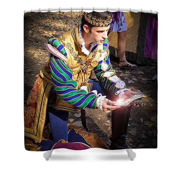 One Day My Prince Will Come Shower Curtain by Andee Design