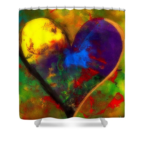 One Love Shower Curtain by WBK