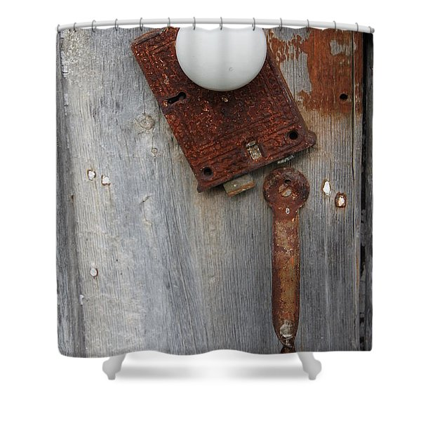 Open Up Shower Curtain by Lauri Novak