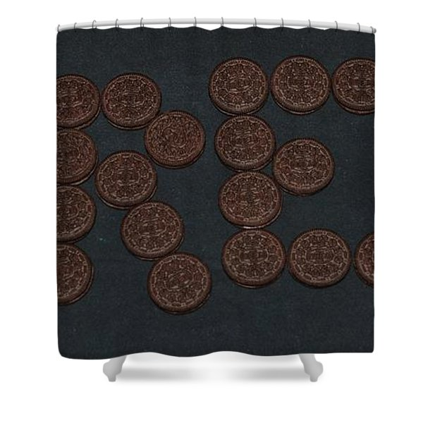 OREO Shower Curtain by ROB HANS