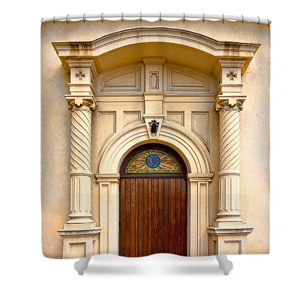 Ornate Entrance Shower Curtain by Christopher Holmes