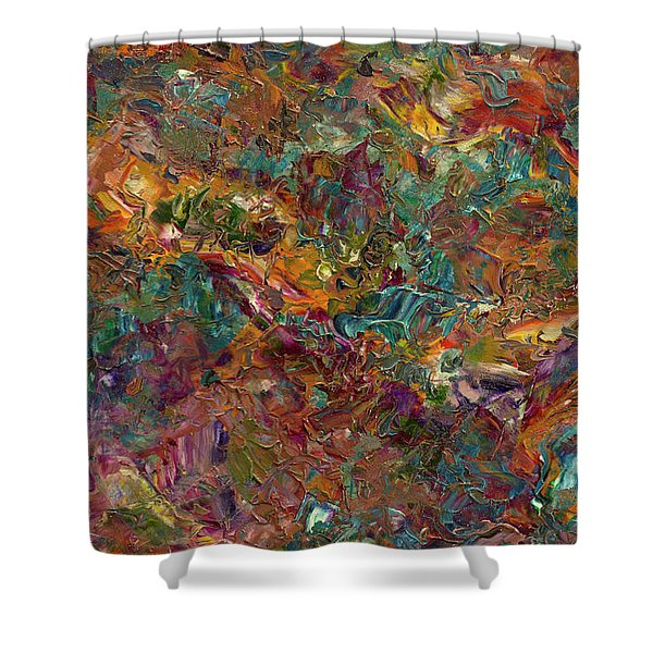 Paint number 16 Shower Curtain by James W Johnson
