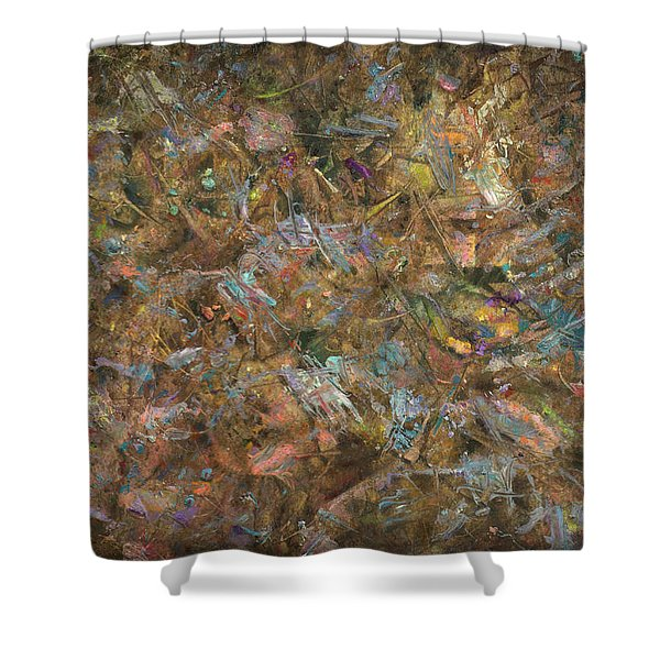 Paint number 18 Shower Curtain by James W Johnson