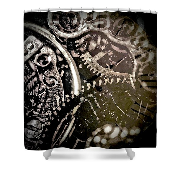 Patience Shower Curtain by Susan Maxwell Schmidt