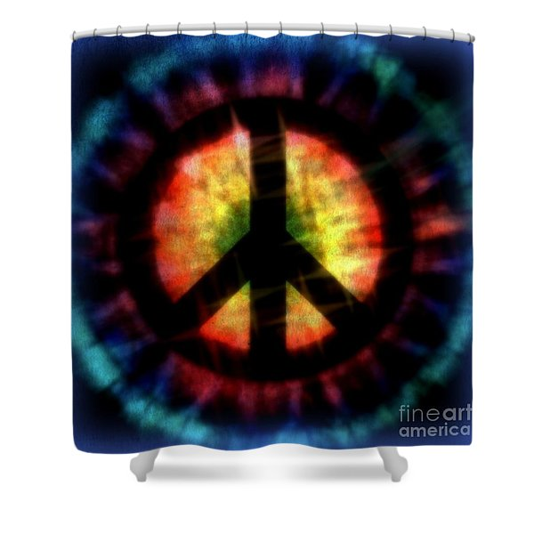 Peace #23 Shower Curtain by WBK