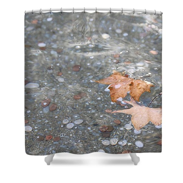 Peace Shower Curtain by Lauri Novak