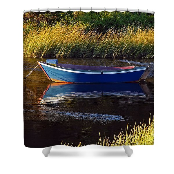 Peaceful Cape Cod Shower Curtain by Juergen Roth