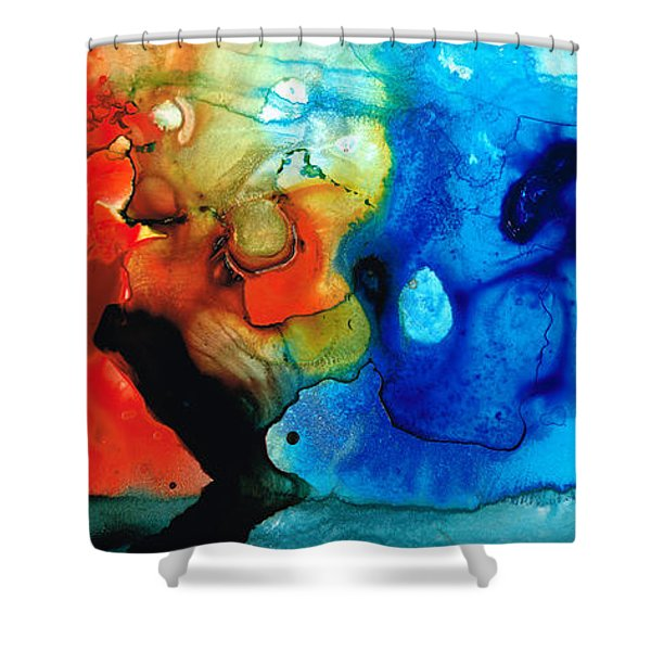 Perfect Whole And Complete Shower Curtain by Sharon Cummings