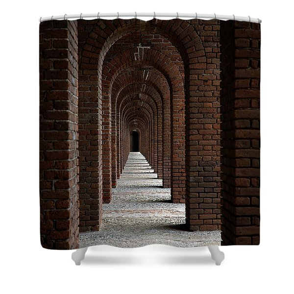 Perspectives Shower Curtain by Susanne Van Hulst