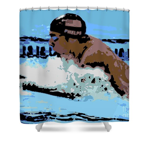 Phelps 2 Shower Curtain by George Pedro