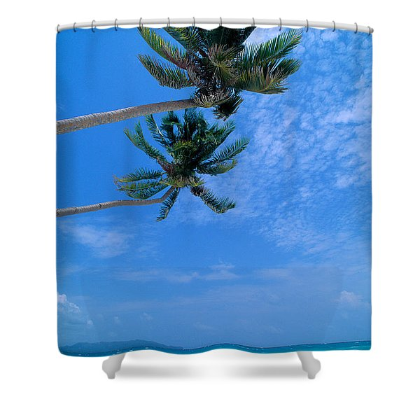 Philippines, Boracay Isla Shower Curtain by William Waterfall - Printscapes