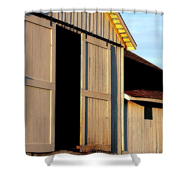 Pierce Point Ranch 16 Shower Curtain by Wingsdomain Art and Photography