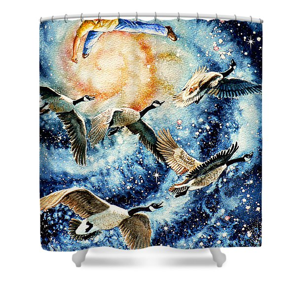Pooka Hill 9 Shower Curtain by Hanne Lore Koehler