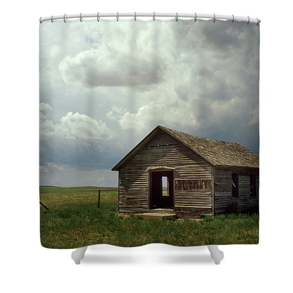 Prairie Church Shower Curtain by Jerry McElroy
