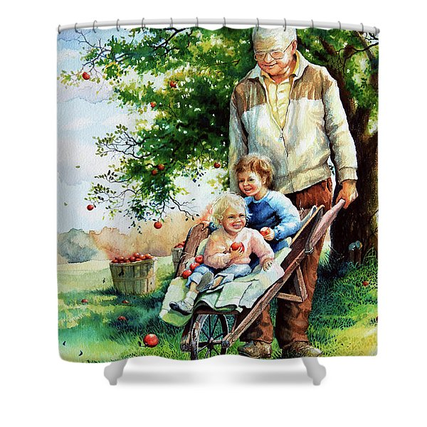 Precious Cargo Shower Curtain by Hanne Lore Koehler