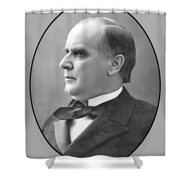 President Mckinley Shower Curtain by War Is Hell Store