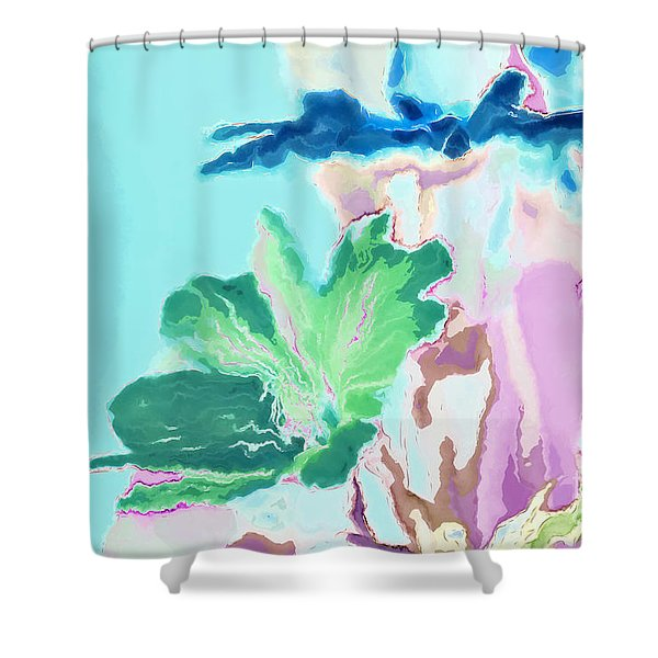 Pretty Bouquet a09z Shower Curtain by Variance Collections