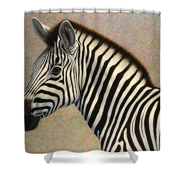 Principled Shower Curtain by James W Johnson