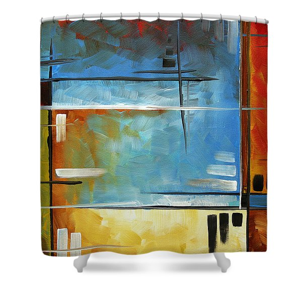 Quiet Whispers by MADART Shower Curtain by Megan Duncanson