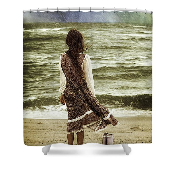 rainy day Shower Curtain by Joana Kruse
