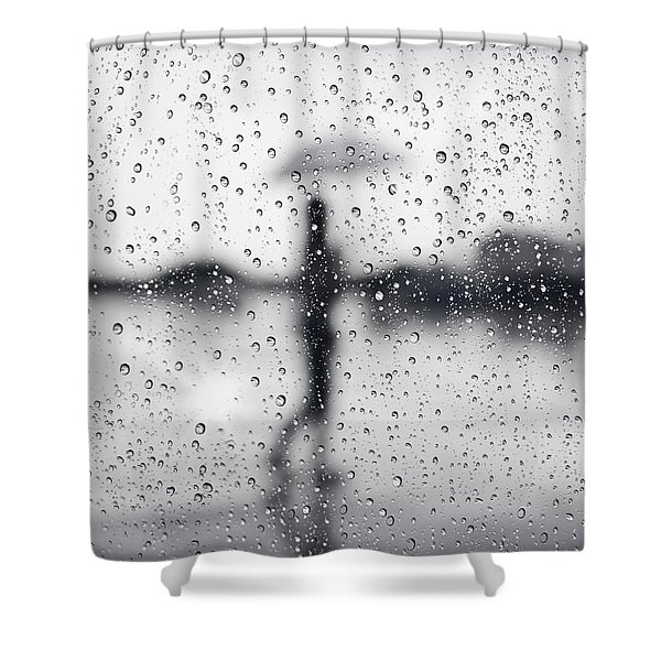 Rainy day Shower Curtain by Setsiri Silapasuwanchai