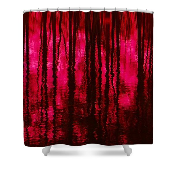 Reflections Shower Curtain by David Lane
