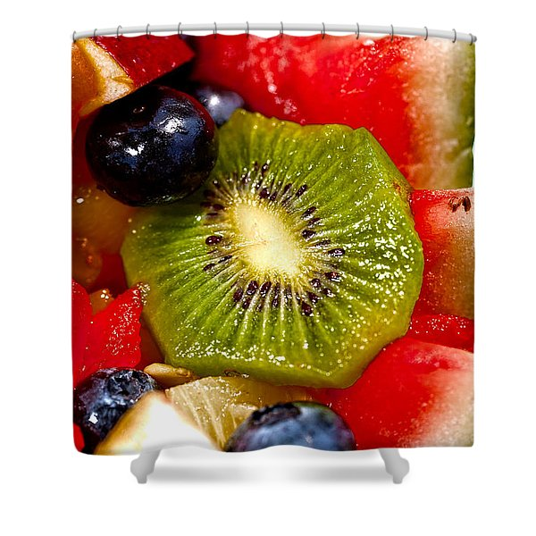 Refreshing Shower Curtain by Christopher Holmes