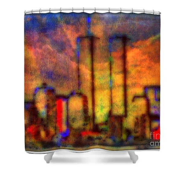 Remembrance Shower Curtain by WBK