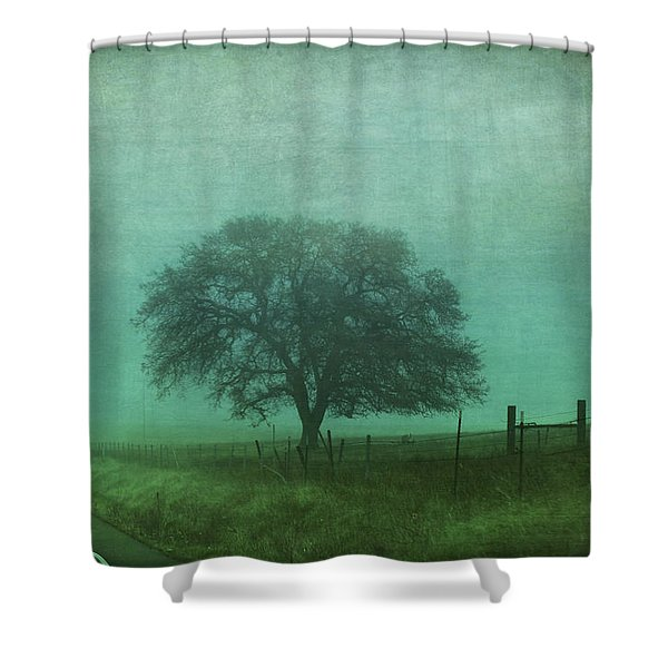 Resolution Shower Curtain by Laurie Search