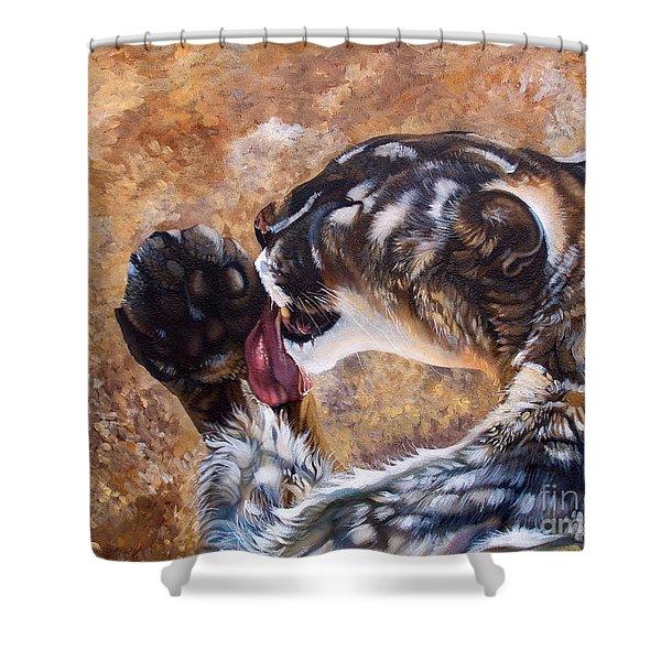 Reverie Shower Curtain by J W Baker