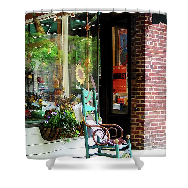 Rocking Chair By Boutique Shower Curtain by Susan Savad
