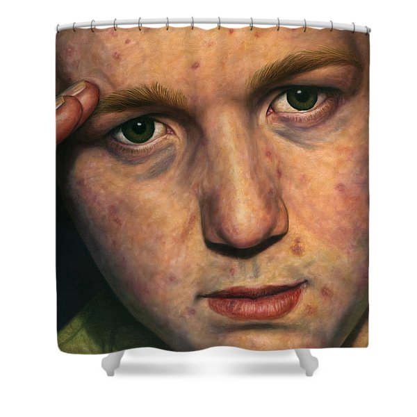 Salute Shower Curtain by James W Johnson
