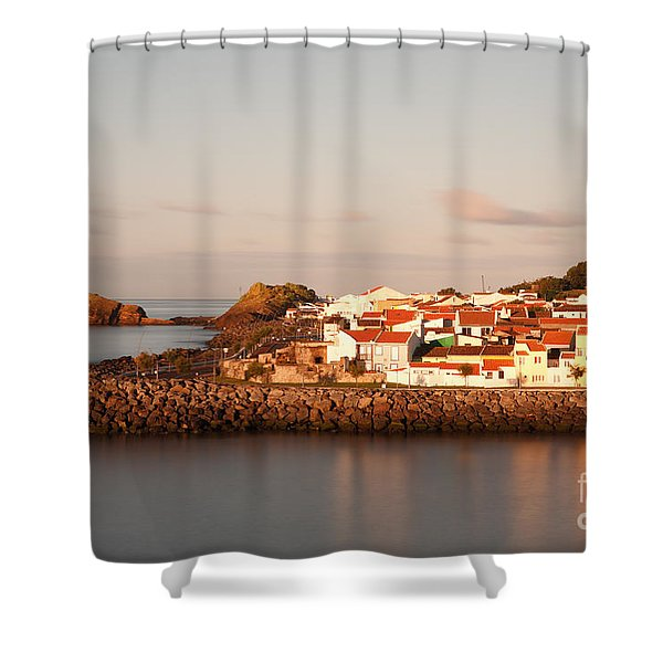 Sao Roque at sunrise Shower Curtain by Gaspar Avila