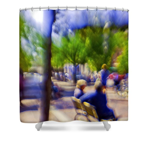 Saturday Afternoon II Shower Curtain by Madeline Ellis