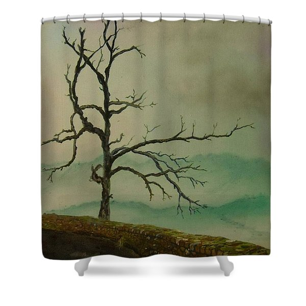 Sentinel Of The Shenandoah Shower Curtain by Nicole Angell