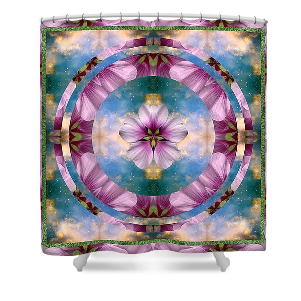 Serenity Shower Curtain by Bell And Todd