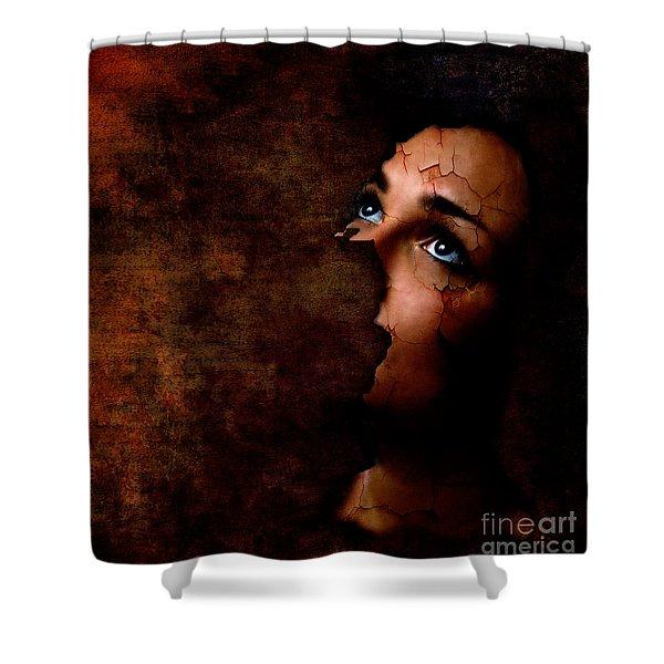 Silenced Shower Curtain by Photodream Art