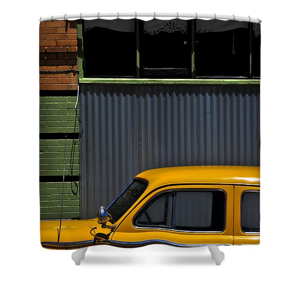 Smooth Operator Shower Curtain by Skip Hunt