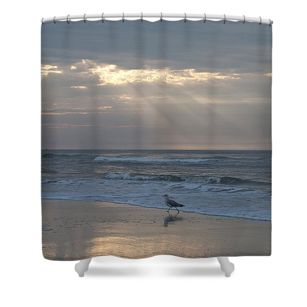 Solitude Shower Curtain by Bill Cannon