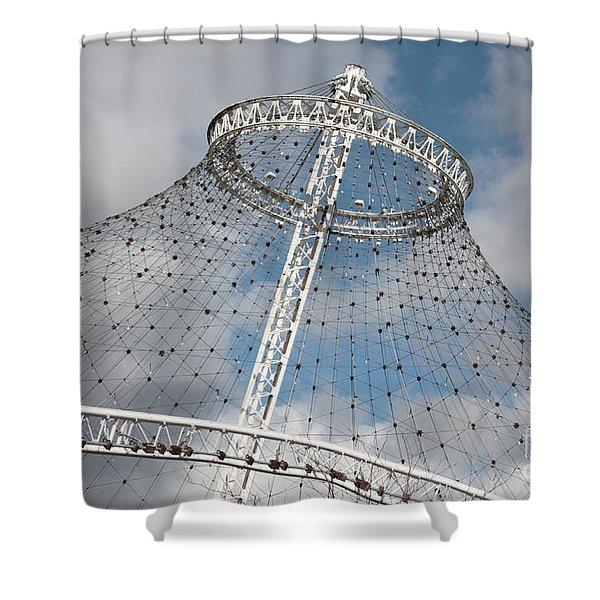 Spokane Pavilion Shower Curtain by Carol Groenen