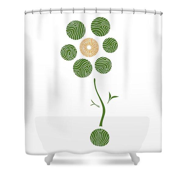 Spring Flower Shower Curtain by Frank Tschakert