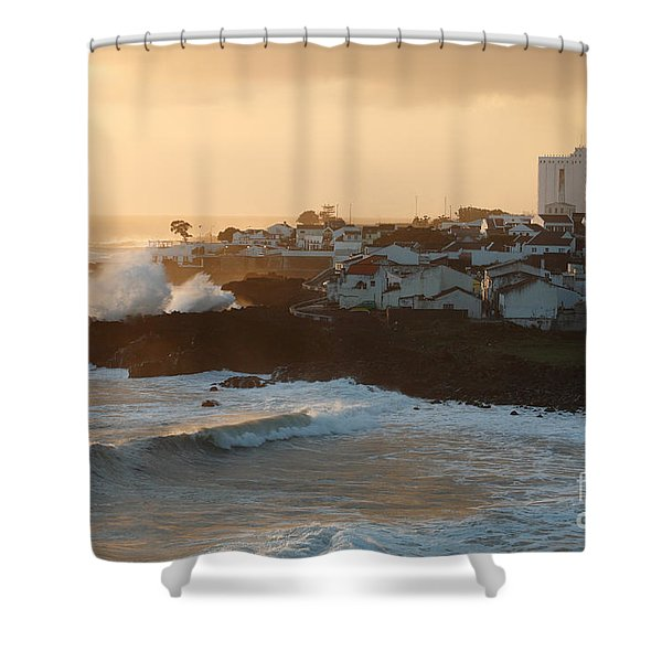 Stormy weather in Azores Shower Curtain by Gaspar Avila