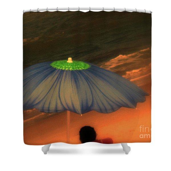 Summer-time Shower Curtain by Susanne Van Hulst