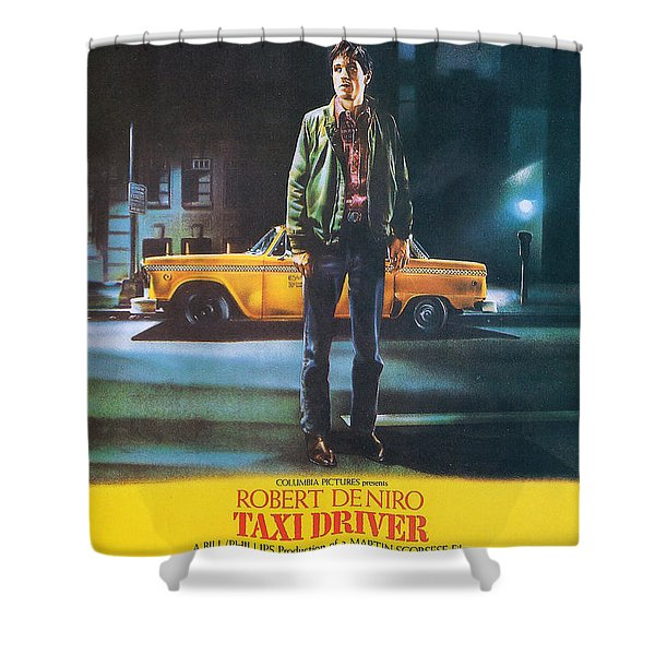 Taxi Driver - Robert De Niro Shower Curtain by Nomad Art And  Design